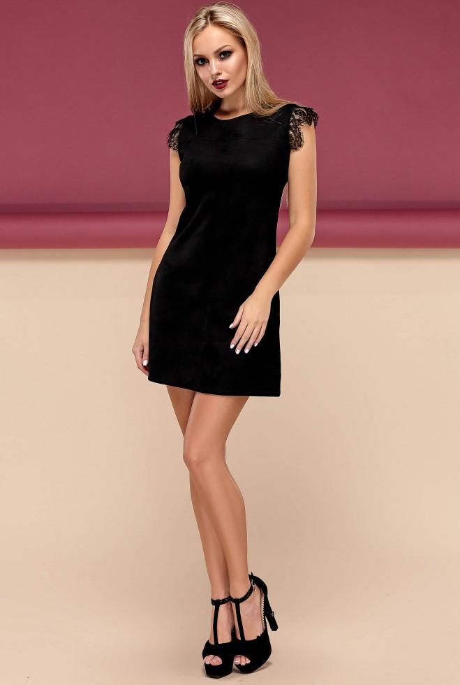 Платье Кайли черный Жадон