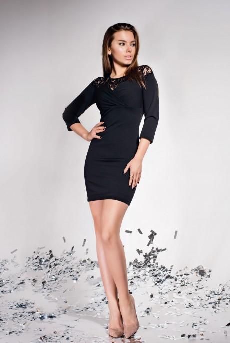 Платье Картье черный