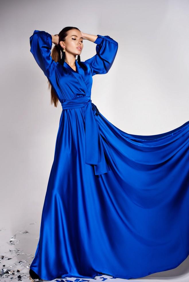Платье Shine электрик Жадон