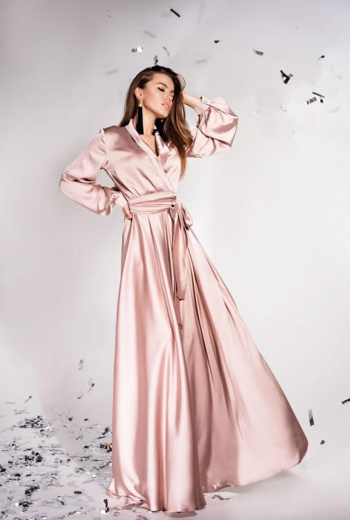 Платье Shine бежевый