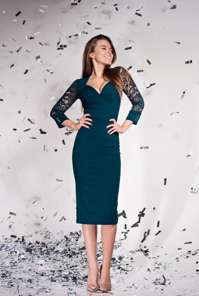 Платье Лазури Изумруд