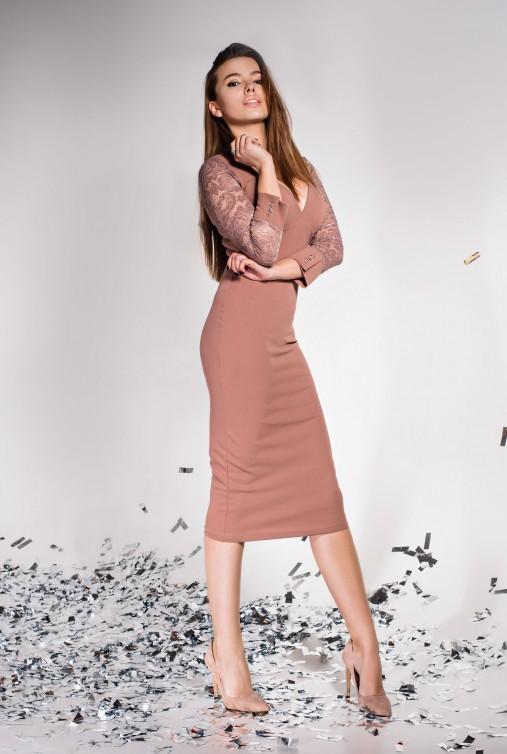 Платье Лазури бежевый