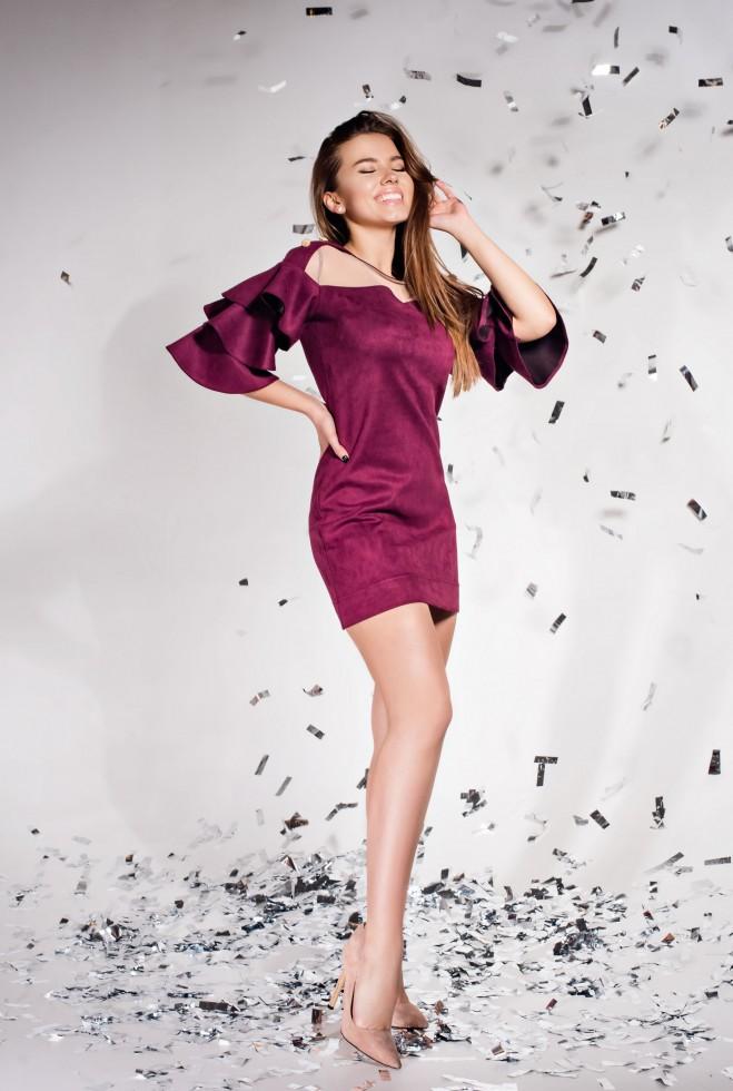 Платье Белла марсала Жадон