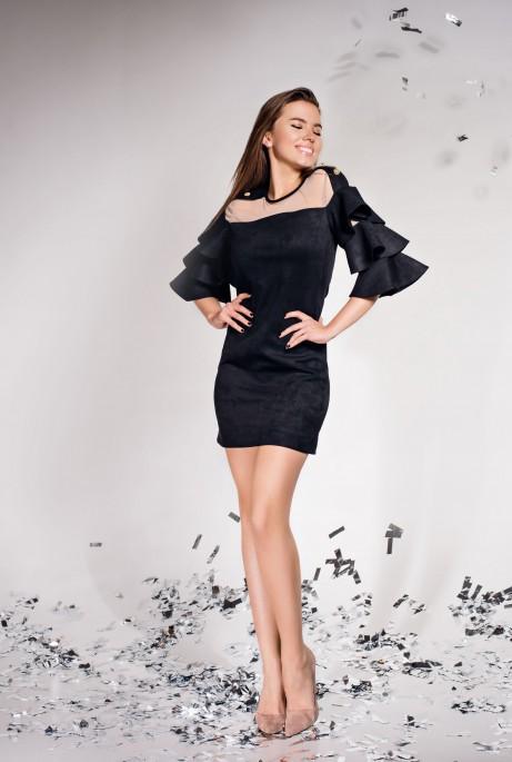 Платье Белла черный