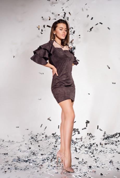 Платье Белла Шоколад