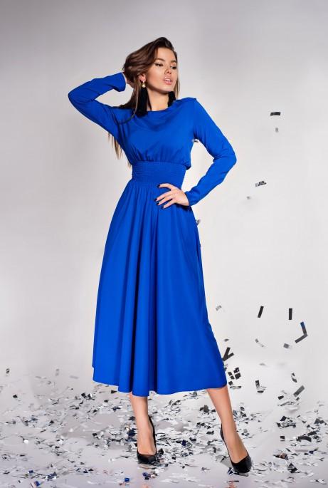 Платье Ариэль  электрик