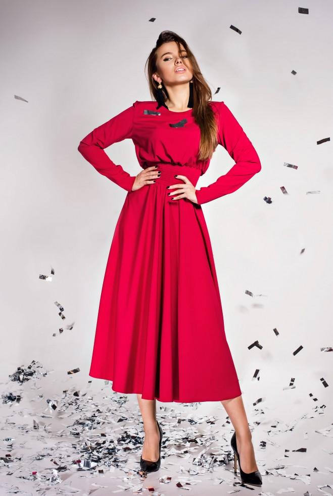 Платье Ариэль  винный