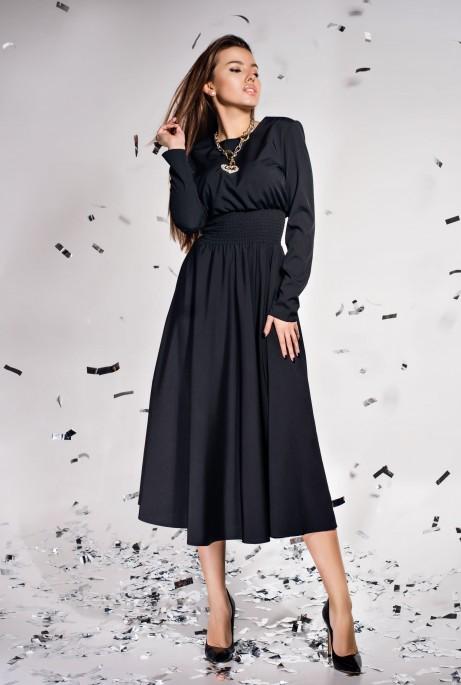 Платье Ариэль  черный