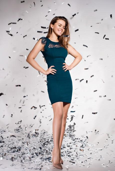 Платье Ливия Изумруд