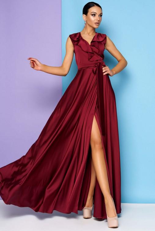 Платье Азалия винный