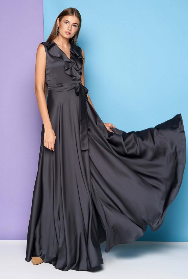 Платье Азалия Графит