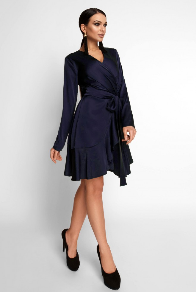 Платье Арина тёмно-синий
