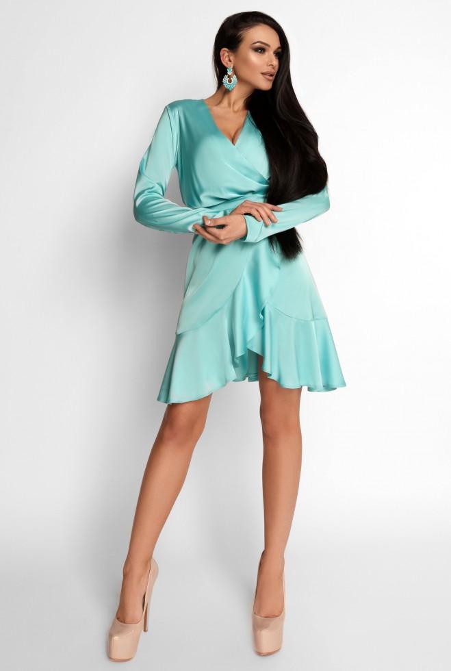 Платье Арина бирюзовый