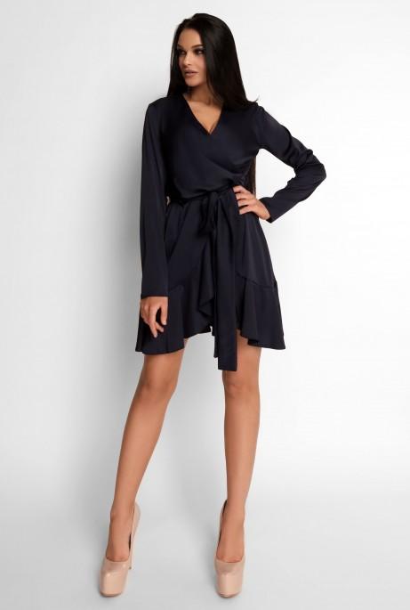 Платье Арина черный