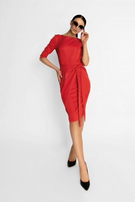 Платье Мари красный