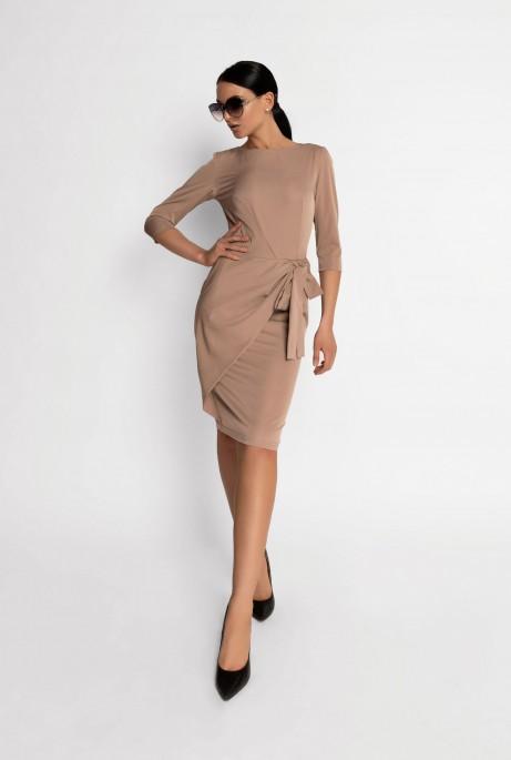 Платье Мари бежевый