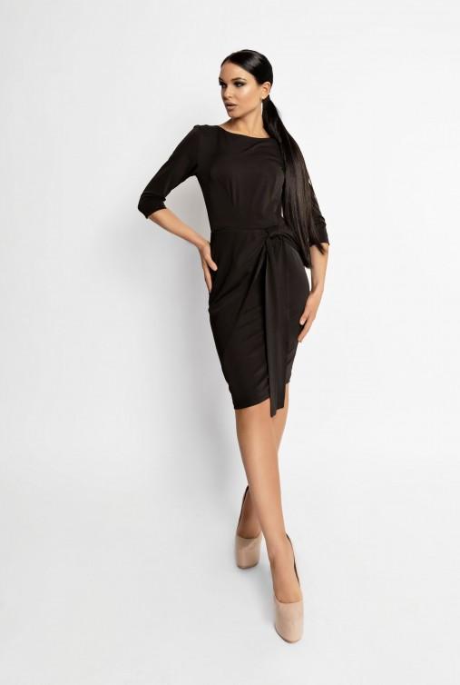 Платье Мари черный