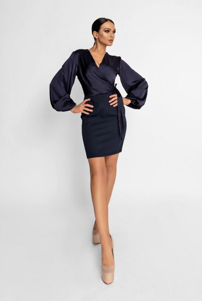 Платье Катрин тёмно-синий