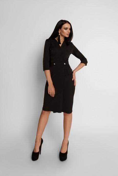 Платье Римма черный