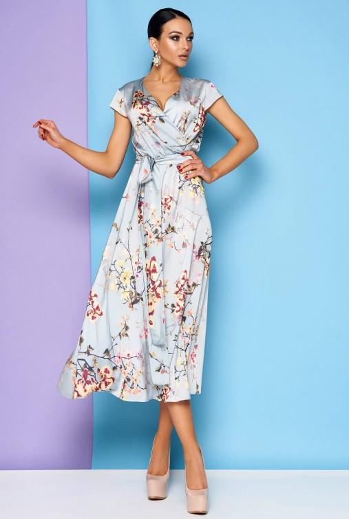 Платье Остия голубой