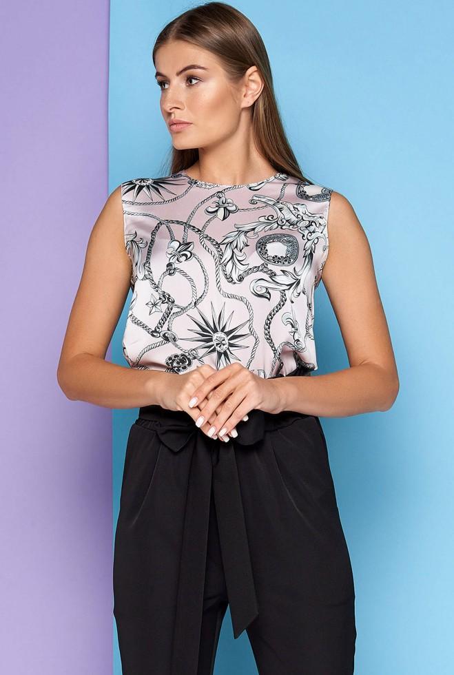 Блуза Фиона лиловый