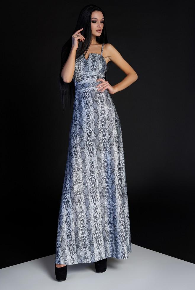 Платье Габи серый