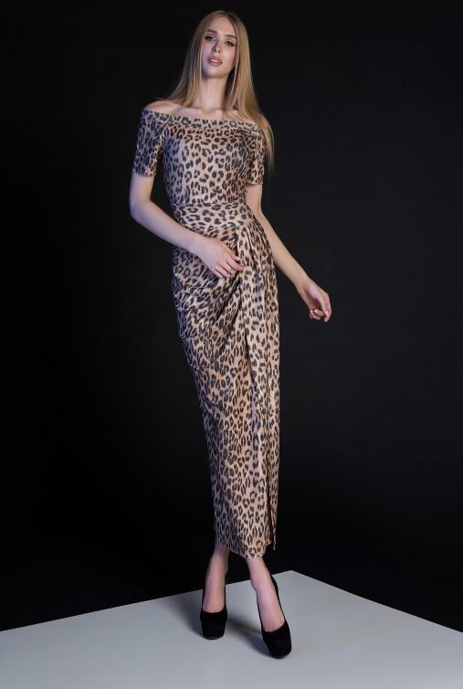 Платье Айша коричневый