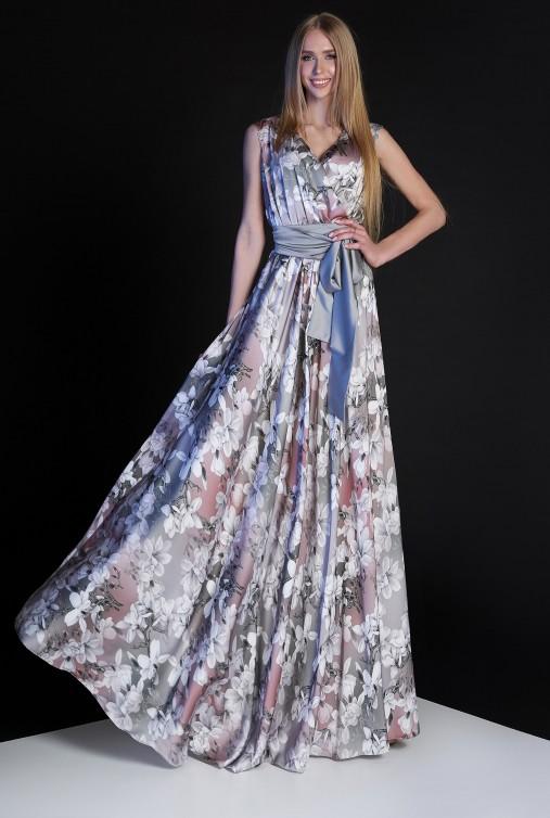 Платье Ивет комбинированный