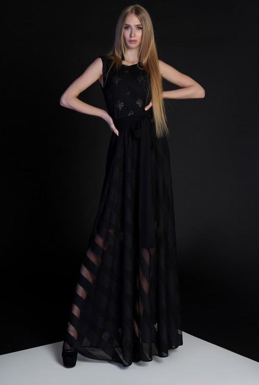 Платье Раяна черный