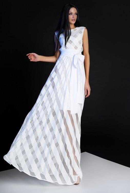 Платье Раяна белый