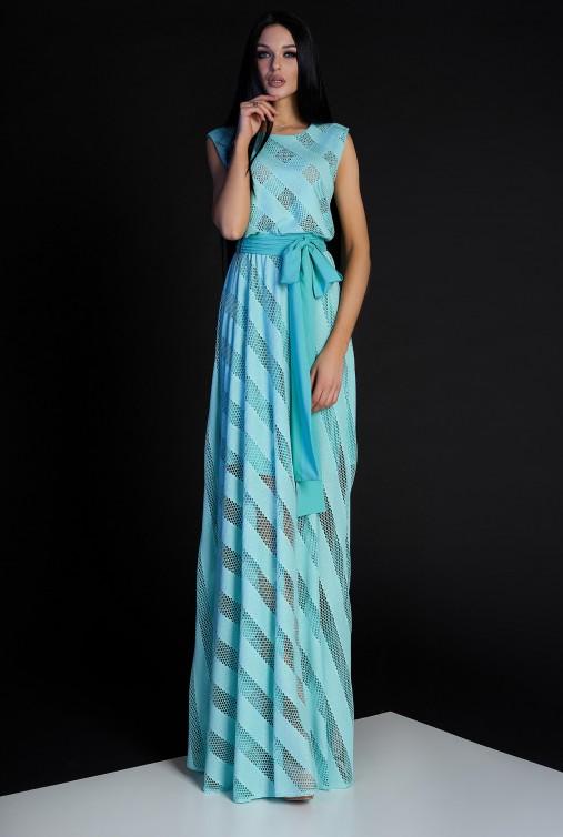 Платье Раяна бирюзовый