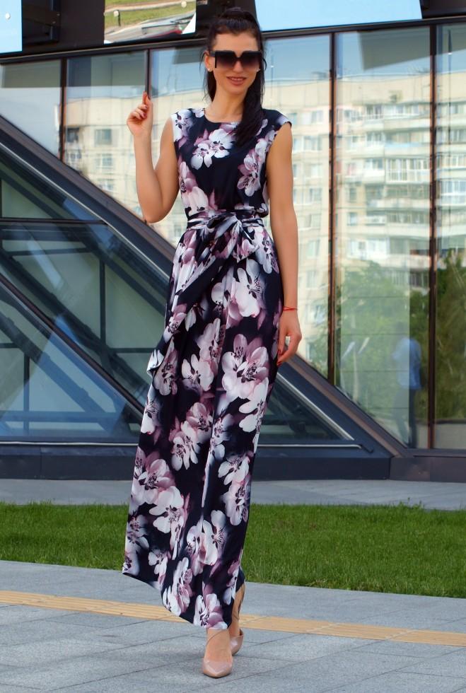 Платье Моника черный