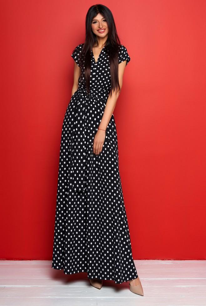 Платье Сюзанна черный