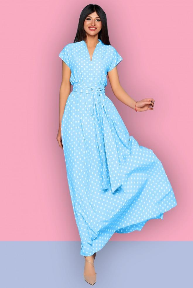 Платье Сюзанна голубой