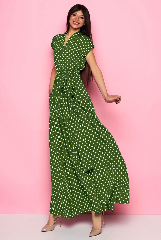 Платье Сюзанна хаки