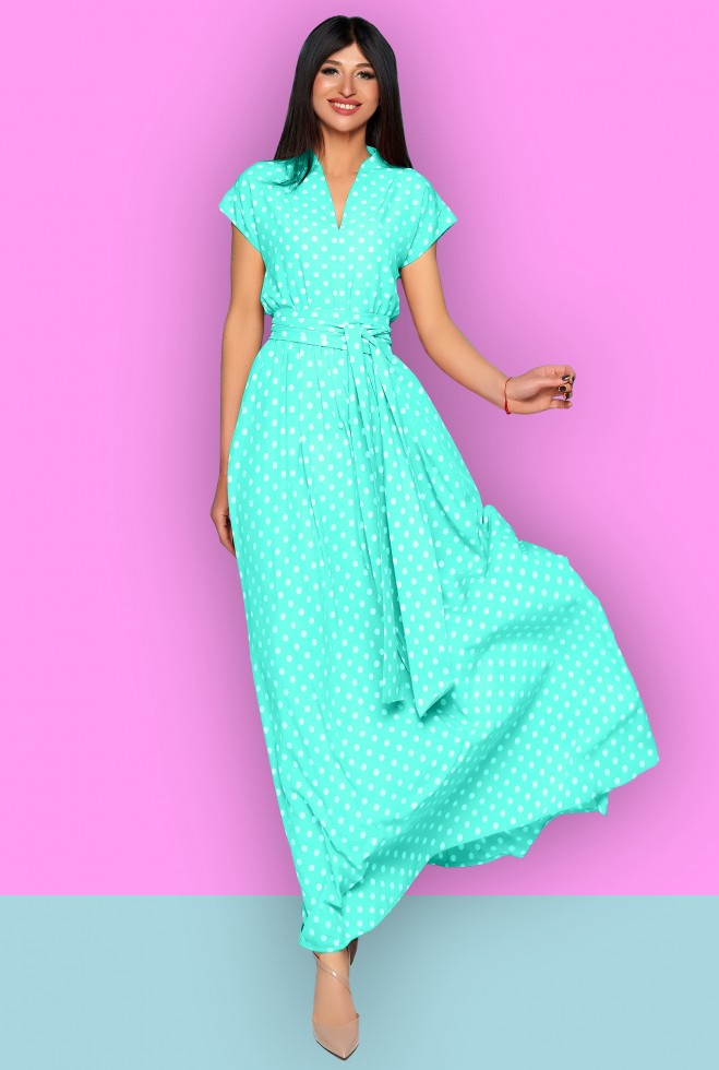 Платье Сюзанна бирюзовый