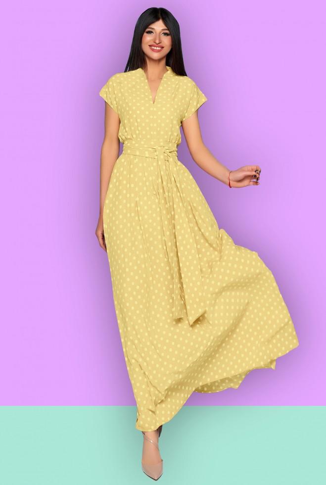 Платье Сюзанна жёлтый