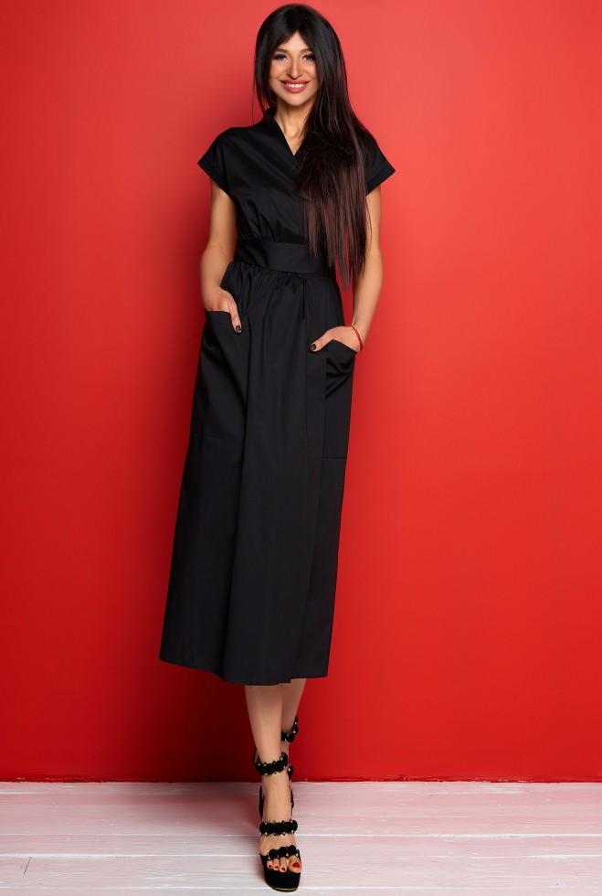 Платье Сьюзи черный