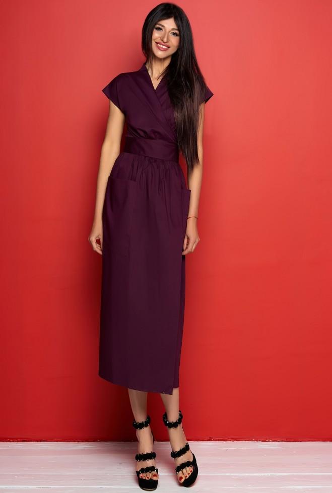 Платье Сьюзи марсала