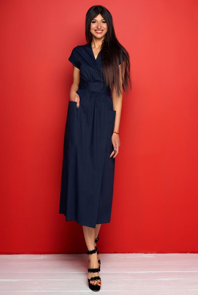 Платье Сьюзи тёмно-синий