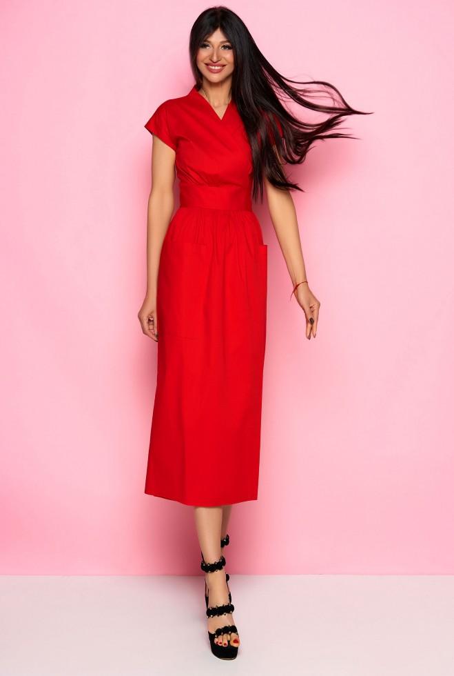Платье Сьюзи красный