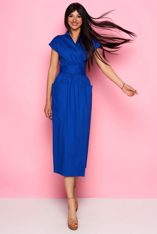 Платье Сьюзи электрик