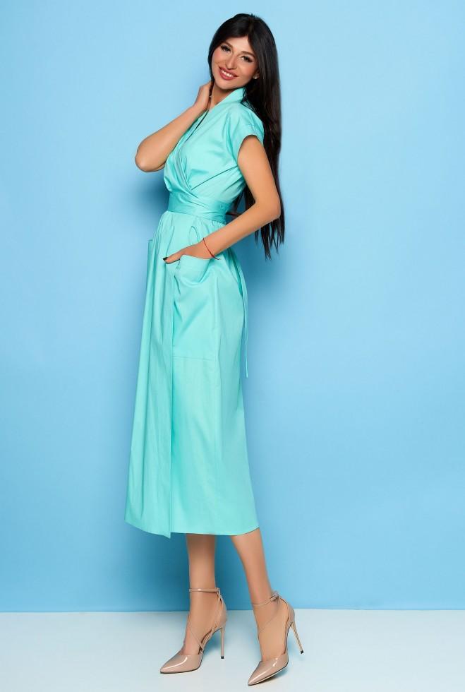 Платье Сьюзи бирюзовый