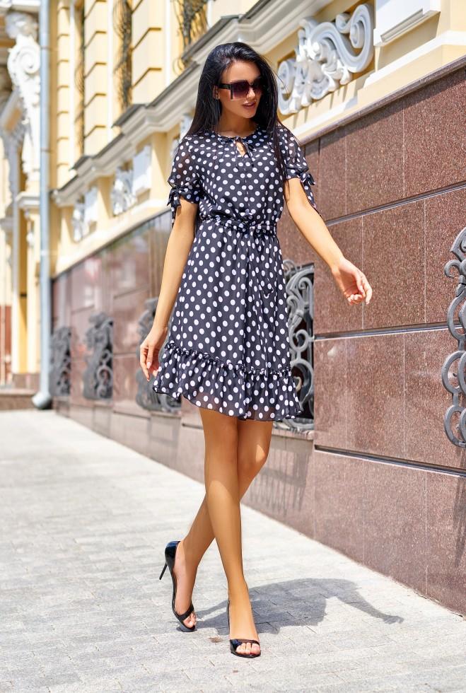 Платье Мила черный