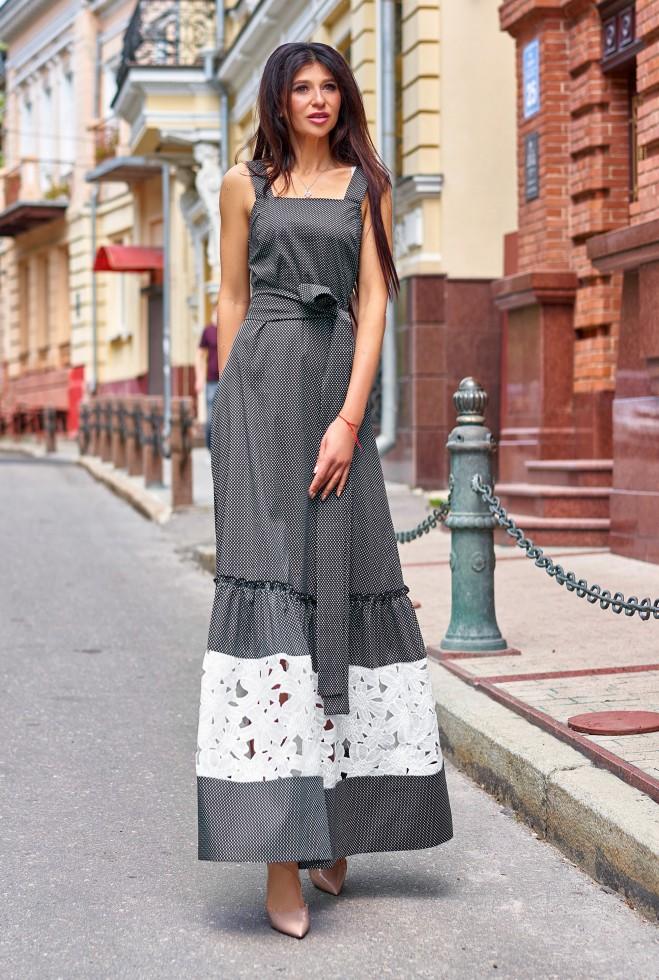 Платье Симона черный