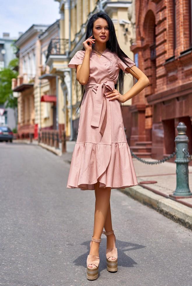 Платье Люси  бежевый