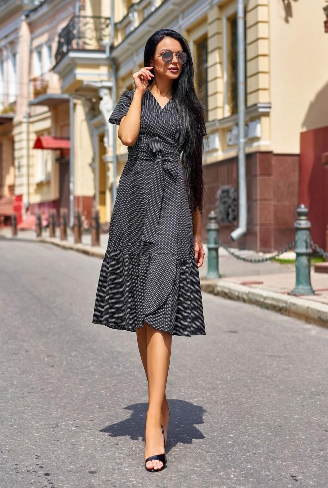 Платье Люси  черный