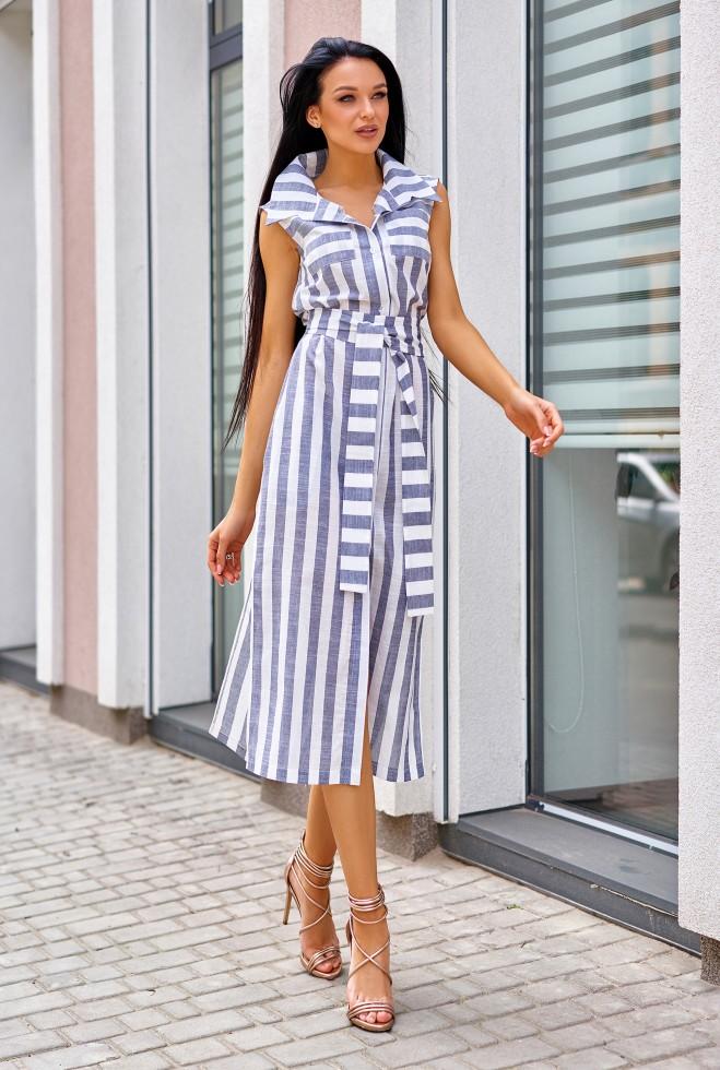 Платье Ким синий