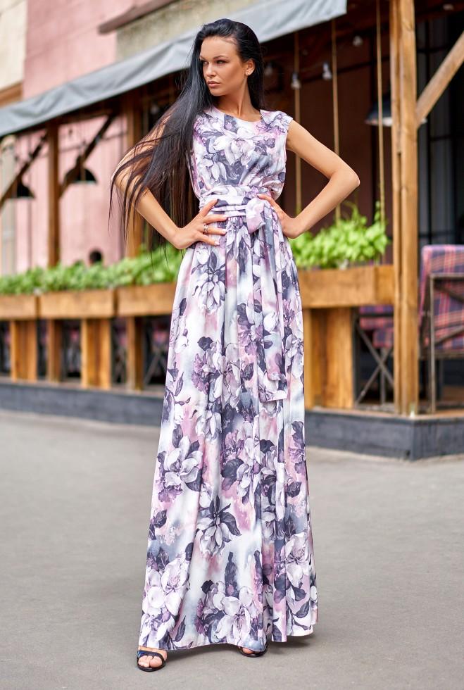 Платье Моника лиловый