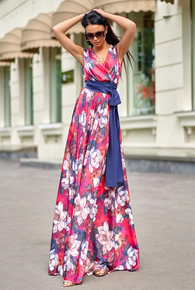 Платье Ивет красный